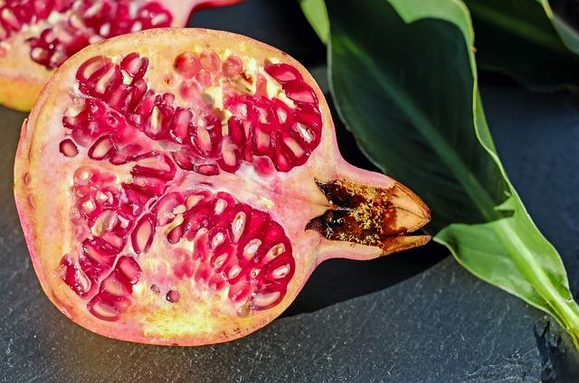půlka granátového jablka
