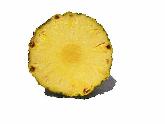 půlka ananasu