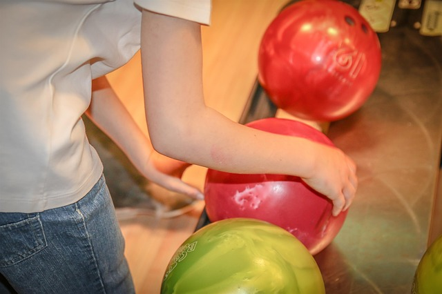 koule na bowling