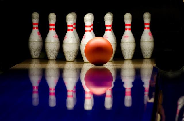 kuželky na bowling