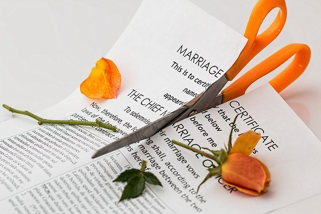 rozpad manželství