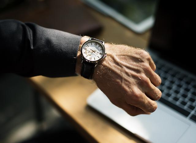 hodinky na ruce