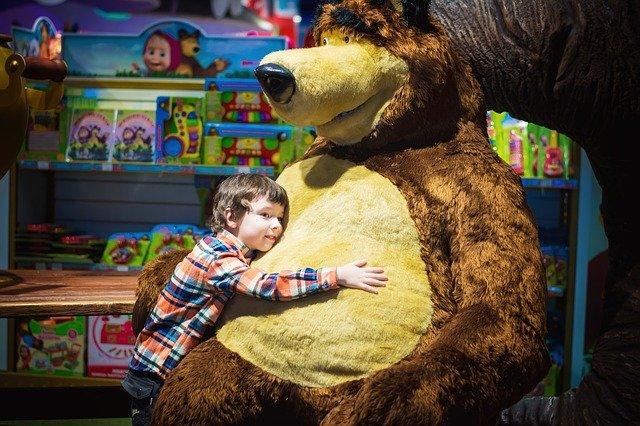 velký medvěd z pohádky