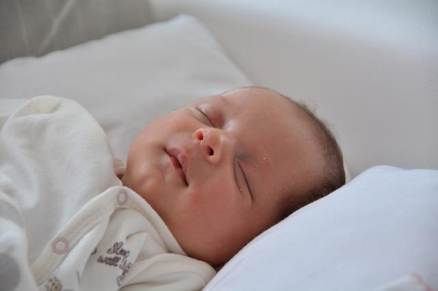 spánek miminka