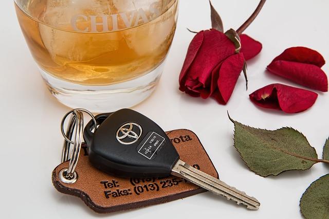 klíče od Toyoty