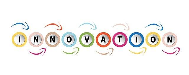 nápis inovace