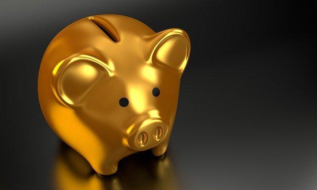 zlatá pokladnička