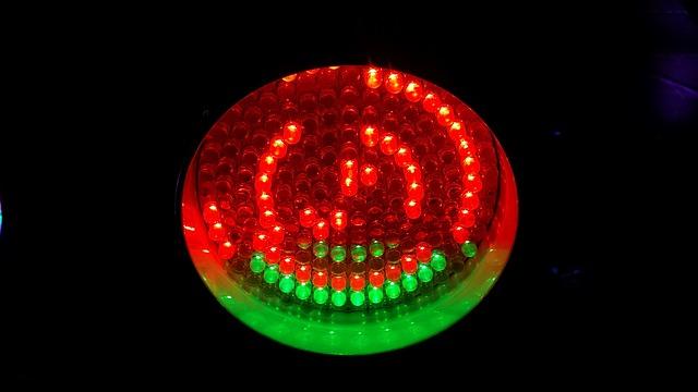 zelenočervené světlo