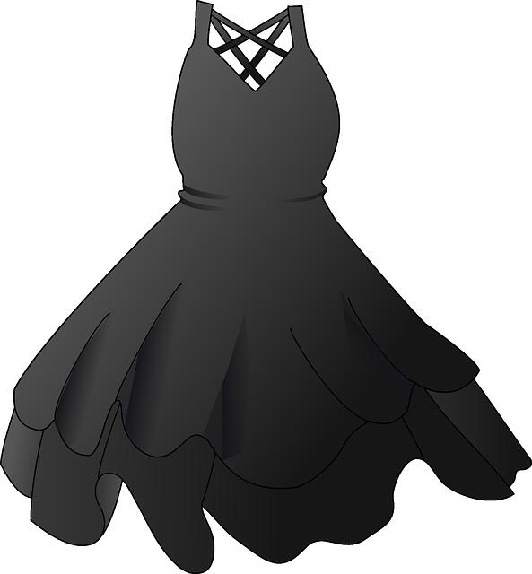 Dívka v romantických šatech