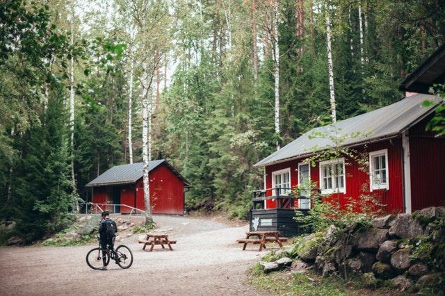 mobilní domy v srdci přírody